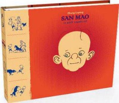 Couverture San Mao, le petit vagabond