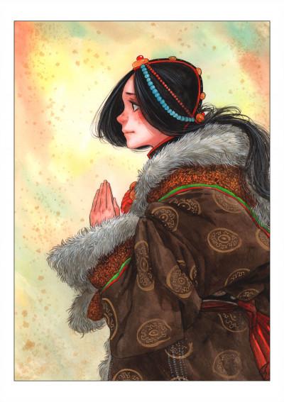 Page 1 Le sixième Daïla-Lama tome 2
