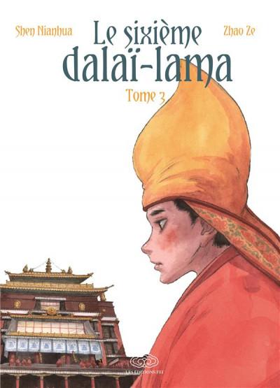 Couverture Le sixième Dalaï-Lama tome 3