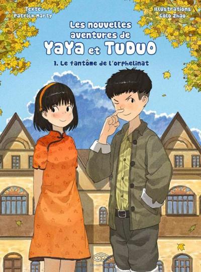 Couverture Les nouvelles aventures de Yaya et Tuduo (roman) tome 1