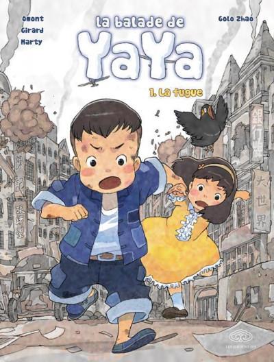 Couverture La balade de Yaya (grand format) tome 1