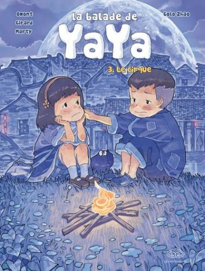 Couverture La balade de Yaya (grand format) tome 3