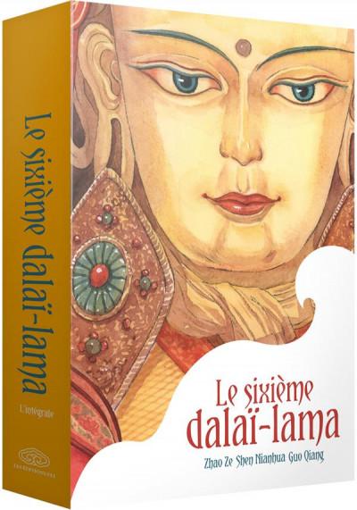 Couverture Le sixième dalai-lama - coffret collector