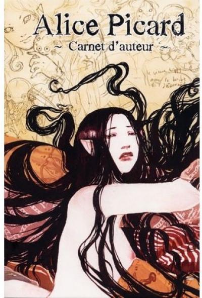 Couverture carnet d'auteur - alice picard