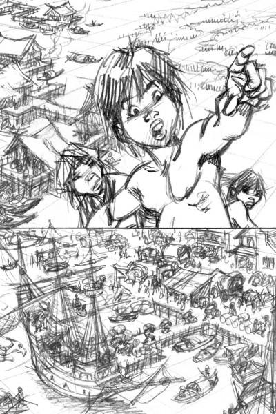 Page 3 carnet d'auteur - Dany tome 2