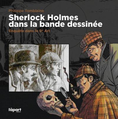 Couverture Sherlock Holmes dans la BD