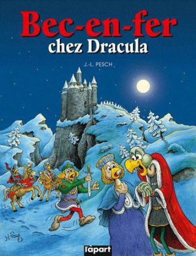 Couverture bec en fer chez Dracula