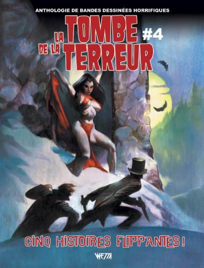 Couverture La tombe de la terreur tome 4