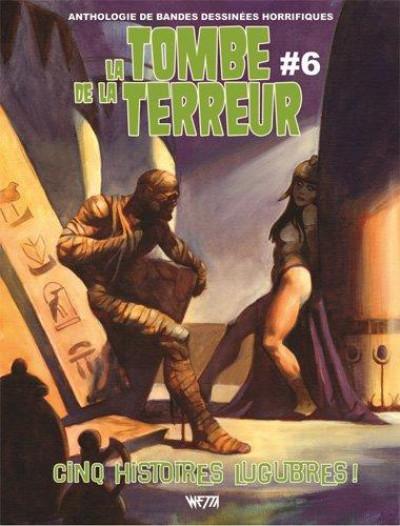 Couverture La tombe de la terreur tome 6