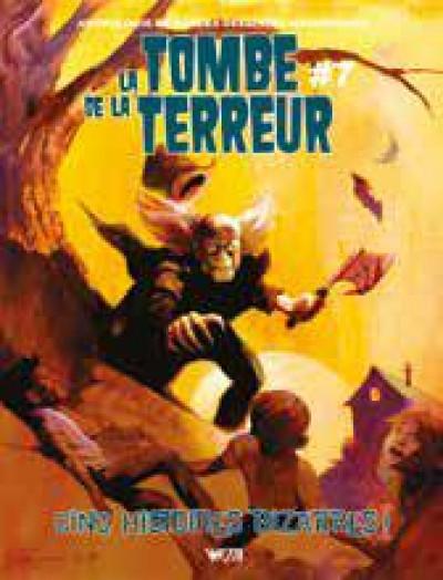 Couverture La tombe de la terreur tome 7