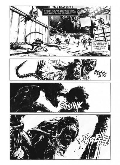 Page 3 Aliens solitaire - édition hardcore
