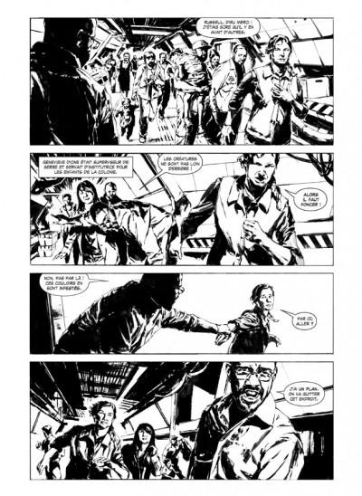 Page 4 Aliens solitaire - édition hardcore