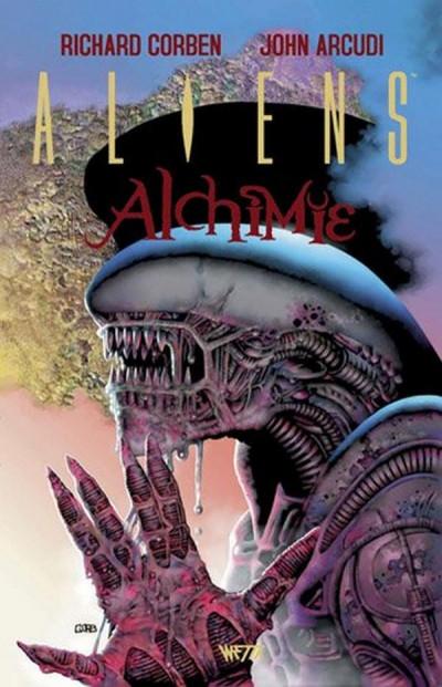 Couverture Aliens alchimie - édition dry