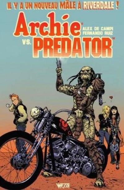 Couverture Archie VS Predator - édition dry standard