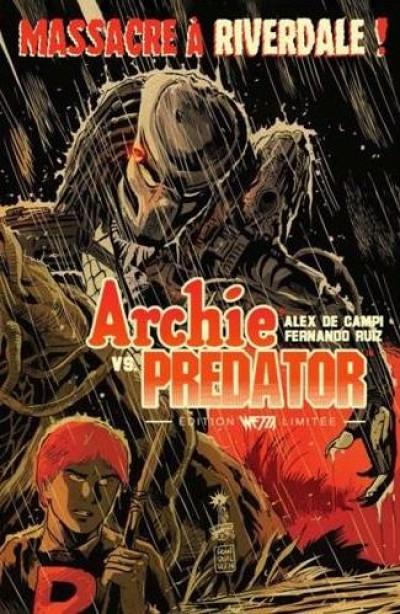 Couverture Archie VS Predator - édition limitée dry X F. Francavilla