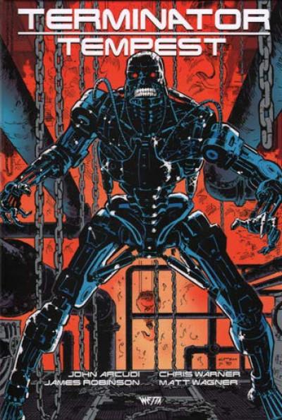 Couverture Terminator tempest - édition hardcore