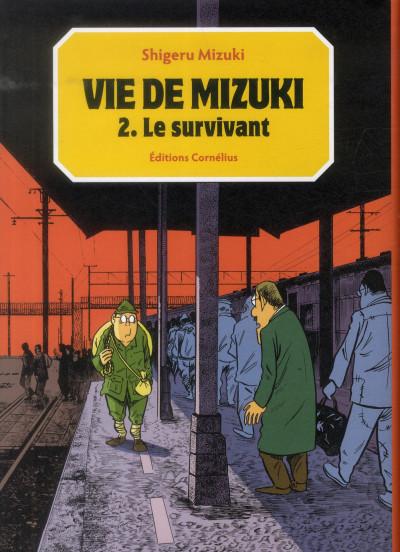 Couverture vie de Mizuki tome 2 - le survivant