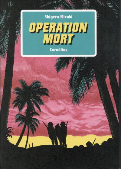 Couverture Opération mort