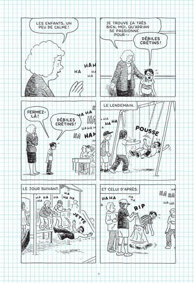 Page 7 La solitude du marathonien de la bande dessinée