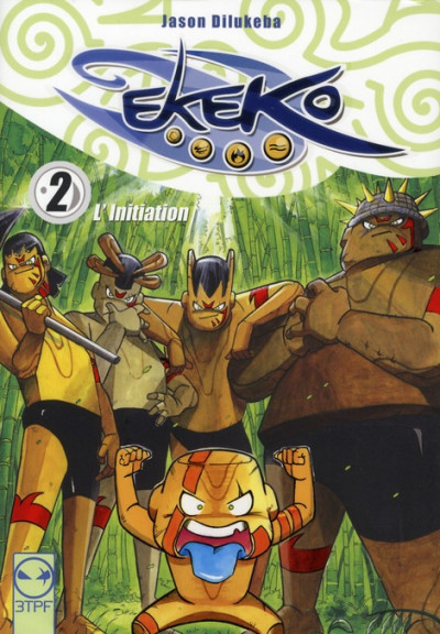 Couverture ekeko tome 2 - l'initiation