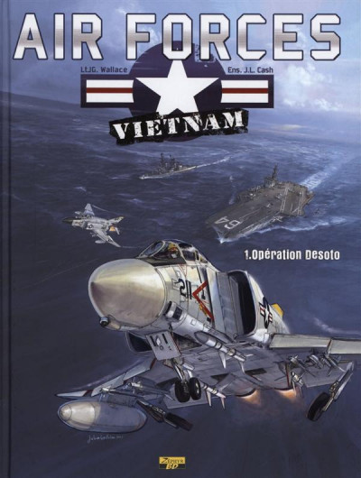 Couverture air forces Vietnam tome 1 - opération Desoto