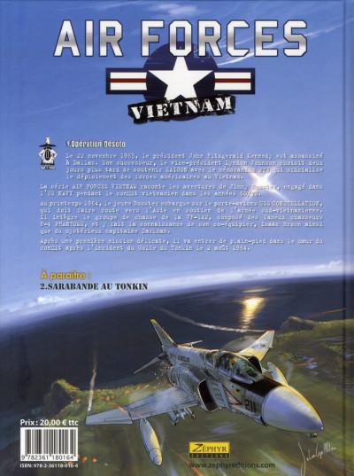 Dos air forces Vietnam tome 1 - opération Desoto