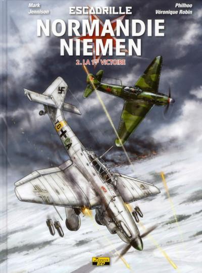 Couverture escadrille Normandie-Niemen tome 2 - la première victoire