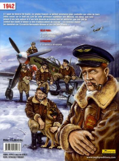 Dos escadrille Normandie-Niemen tome 2 - la première victoire