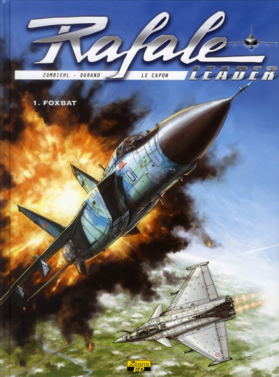 Couverture Rafale leader tome 1