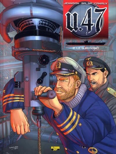 Couverture U-47 tome 2 - Le Survivant - édition spéciale + Ex-Libris