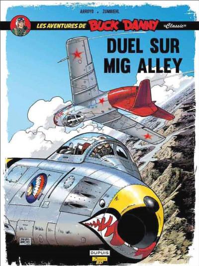 Couverture Buck Danny (classic) tome 2 - duel sur Mig Alley