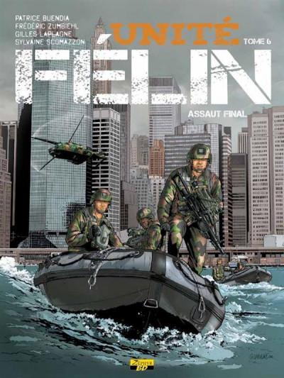Couverture Unité Félin tome 6 - assaut final