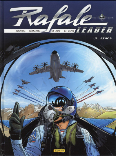 Couverture Rafale Leader tome 5