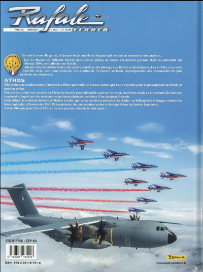 Dos Rafale Leader tome 5
