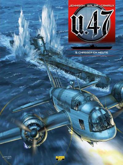 Couverture U-47 tome 9 - chasser en meute (BD + DOC)