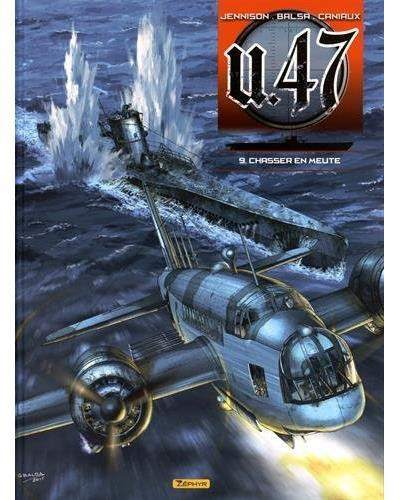 Couverture U.47 tome 9 - Chasser en meute
