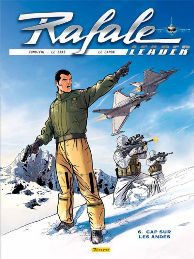 Couverture Rafale leader tome 6