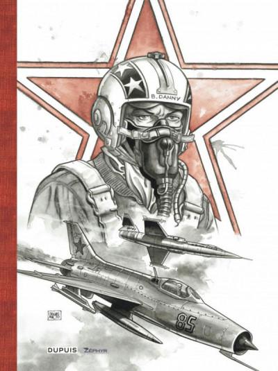 Couverture Buck Danny (classic) tome 5 - Opération rideau de fer (édition luxe)