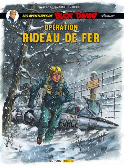 Couverture Buck Danny (classic) tome 5 - Opération rideau de fer