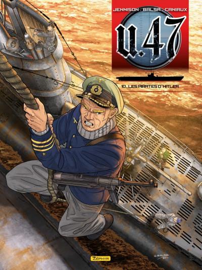 Couverture U-47 tome 10