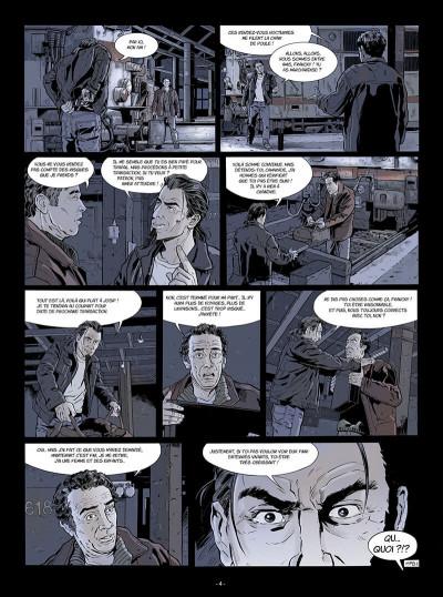 Page 5 Flics du rail tome 1