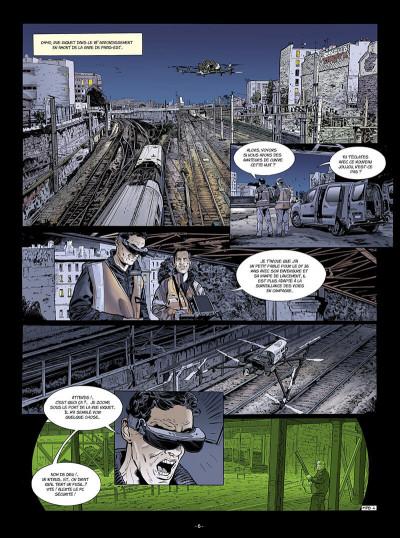 Page 7 Flics du rail tome 1