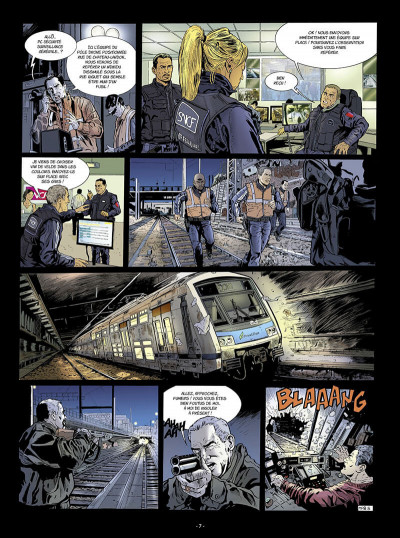 Page 8 Flics du rail tome 1