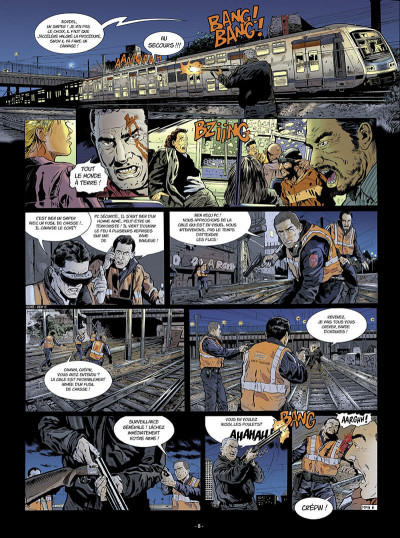 Page 9 Flics du rail tome 1