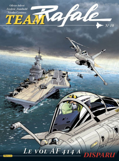 Couverture Team Rafale tome 10