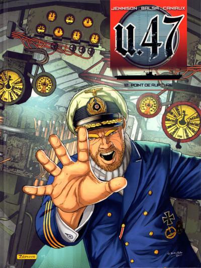 Couverture U-47 tome 12 - Point de rupture + doc