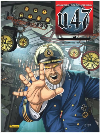 Couverture U-47 tome 12
