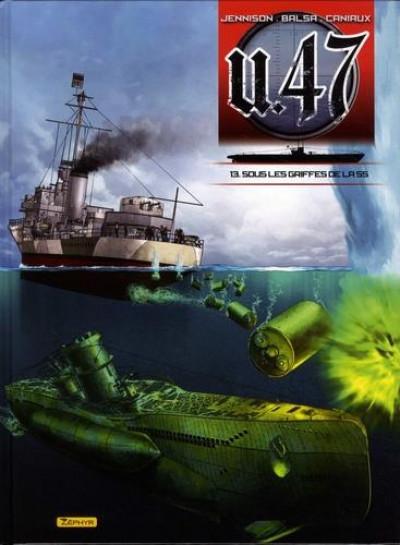 Couverture U-47 tome 13