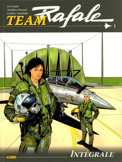 Couverture Team rafale - intégrale tome 1