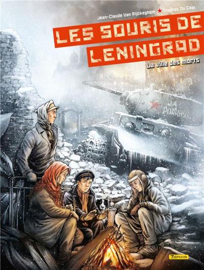 Couverture Les souris de Leningrad tome 2